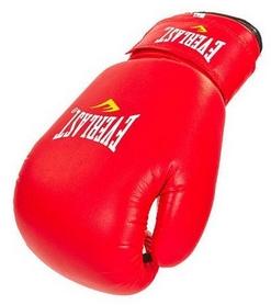 Фото 3 к товару Перчатки боксерские Everlast Юниор MA, красные (MA-0033-R)