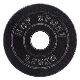 Диск стальной Hop-Sport - 31 мм, 1,25 кг