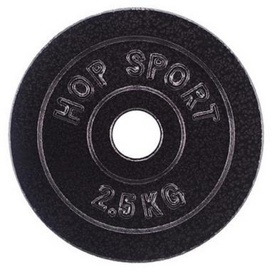 Диск стальной Hop-Sport - 31 мм, 2,5 кг