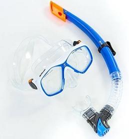 Набор для плавания ZLT M276-SN120-PVC-BL (маска + трубка) - синий