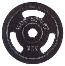 Фото 1 к товару Диск стальной Hop-Sport - 31 мм, 5 кг