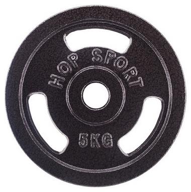 Диск стальной Hop-Sport - 31 мм, 5 кг