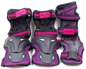 Защита для катания (наколенники, налокотники, перчатки) Kepai, фиолетовая