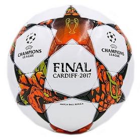Мяч футбольный Star Champions Leagues, бело-оранжевый, №4