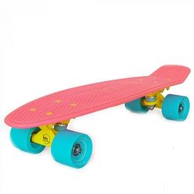 Скейтборд детский Baby Miller S01BM0020, розовый