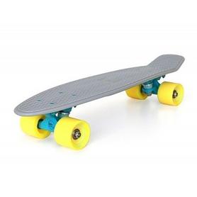 Скейтборд детский Baby Miller S01BM0025, серый