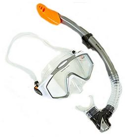 Набор для плавания M153-SN124-PVC-WH (маска + трубка) - белый