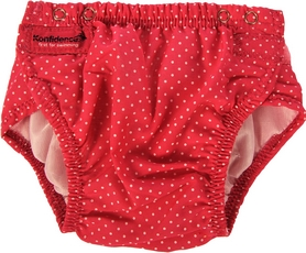 Трусики для плавания Konfidence Aquanappies Pink Polka Dot