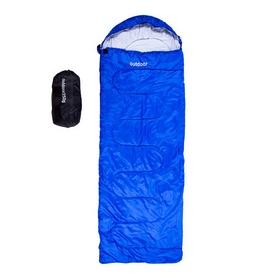 Мешок спальный (спальник) Green Camp OUT-250 - синий, 230 см * 75 см