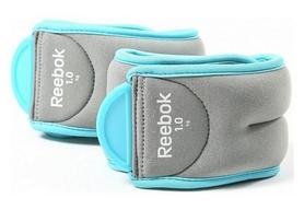 Утяжелители для ног фиксированные Reebok, 2 шт по 1 кг