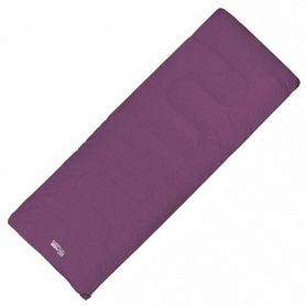 Мешок спальный (спальник) Highlander Sleepline - фиолетовый, левый, 250/+5°C (924261)