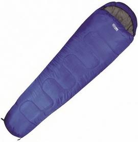 Мешок спальный (спальник) Highlander Sleepline Mummy - синий, левый, 250/+5°C (924264)