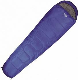 Мешок спальный (спальник) Highlander Sleepline Mummy - синий, левый, 300/+3°C (924266)