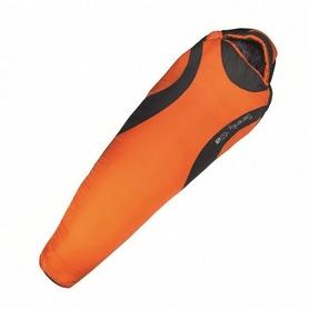 Мешок спальный (спальник) Highlander Serenity - серо-оранжевый, левый, 450/-10°C (924275)