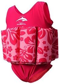 Купальник-поплавок Konfidence Floatsuits Hibiscus/Pink (FS05)