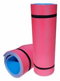 Коврик для фитнеса Izolon Sport 8 - сине-красный, 8 мм