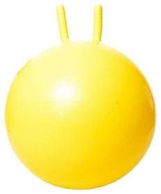 Мяч для фитнеса (фитбол) с рукоятками HouseFit DD 45 см желтый
