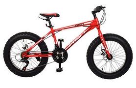 """Велосипед горный фэтбайк Profi Power - 26"""", рама - 17"""", красный (1.0 S26.3)"""