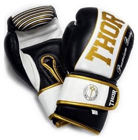 Перчатки боксерские Thunder Leather черные (529/09)