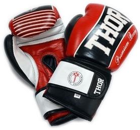 Перчатки боксерские Thunder Leather красный (529/13)