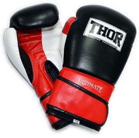 Перчатки боксерские Thor Ultimate Leather черные (551-01)
