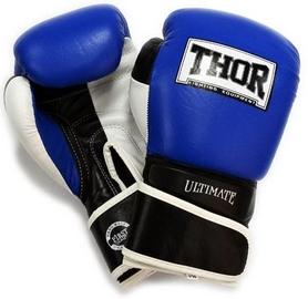 Перчатки боксерские Thor Ultimate PU синие (551/03)