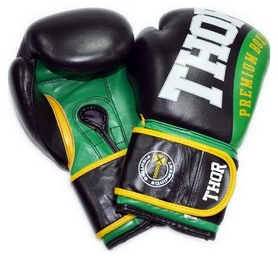Перчатки боксерские Thor Shark PU зеленые (8019/01)