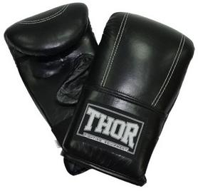 Перчатки снарядные Thor 605 Leather Black