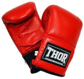 Перчатки снарядные Thor 606 PU красные