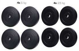 Набор дисков композитных Elitum Titan В, 30 кг