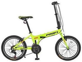 """Велосипед складной Profi Ride A20.2 - 20"""", рама - 12"""", зеленый (G20RIDE A20.2)"""