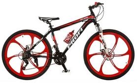"""Велосипед горный Profi Blade 26.1B - 26"""", рама - 17"""", черный (BLADE 26.1B)"""