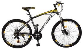 """Велосипед горный Profi Format A26.3 - 26"""", рама - 17"""", желтый (EB26FORMAT A26.3)"""