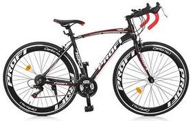 """Велосипед шоссейный Profi Move A700C-1 2018 - 27,5"""", рама - 19"""", черный"""