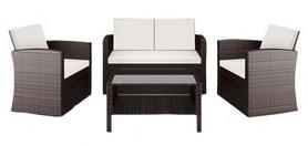 Набор мебели садовой Hop-Sport Ротанг Casella, коричневый