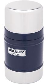 Термос пищевой Stanley Classic - синий, 500 мл (6939236320092)
