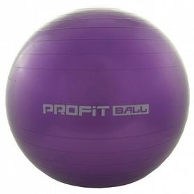 Мяч для фитнеса (фитбол) Profi - сиреневый, 65 см (M0276-3)