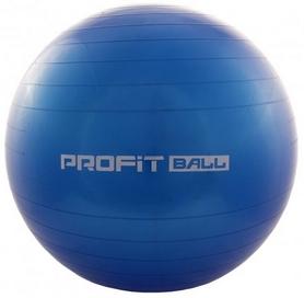 Мяч для фитнеса (фитбол) Profi - голубой, 75 см (M0277-4)