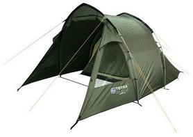 """Палатка четырехместная Terra Incognita """"Camp 4,"""" хаки"""