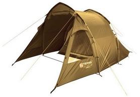 """Палатка четырехместная Terra Incognita """"Camp 4,"""" песочная"""