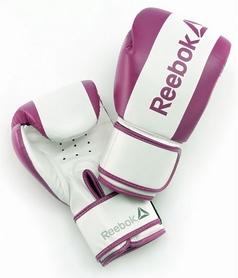 Перчатки боксерскиеReebokBoxing Glovesфиолетовые (RSCB-PL)