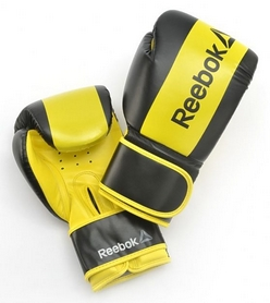 Перчатки боксерскиеReebokBoxing Glovesжелтые (RSCB-YL)