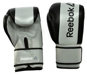 Перчатки боксерскиеReebokBoxing Glovesсерые (RSCB-GR)