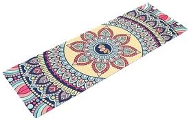 Коврик для йоги (йога-мат) Pro Supra, красный (FI-5662-14)