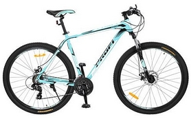 """Велосипед горный Profi - 29"""", рама - 19,5"""", бирюзовый (EB29SUPREME1.0 A29.1)"""