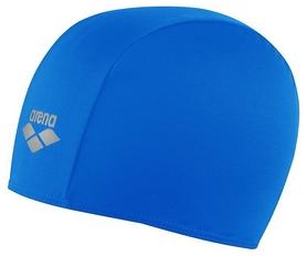 Шапочка для плавания Arena Polyester, голубая (91111-79)