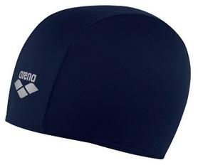 Шапочка для плавания Arena Polyester Jr, синяя (91149-72)