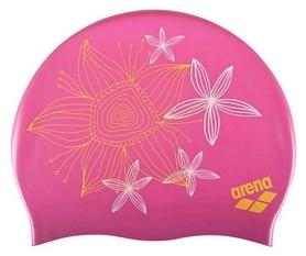 Шапочка для плавания детская Arena Sirene Hand Draw, розовая (91440-22)