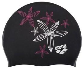 Шапочка для плавания детская Arena Sirene Hand Draw, черная (91440-26)