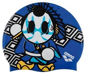 Шапочка для плавания детская Arena Kun Cap, синяя (91552-36)